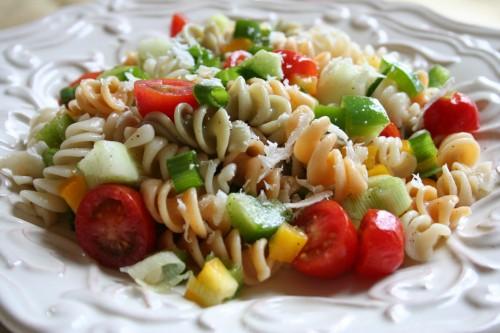 glazed veg salad